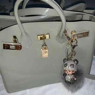 Grey Beachkin Bag