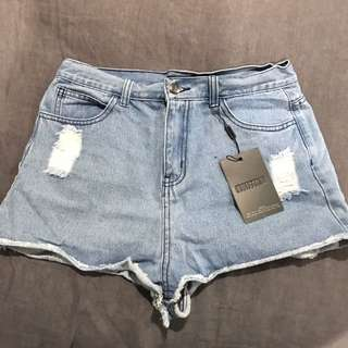 BNWT Misguided Short Shorts