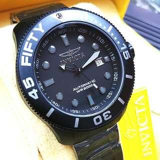新品 正品 美國 INVICTA 自動手錶 20518 黑鈦 50mm 男裝手錶