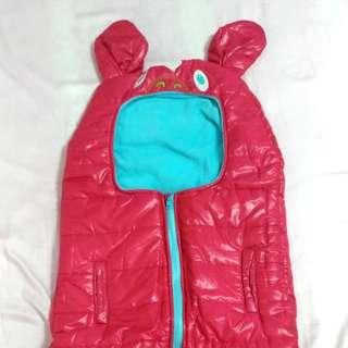🚚 嬰幼兒防風舖棉睡袋