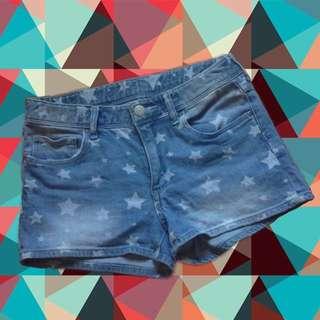 Denim Shorts ( Semi HW )