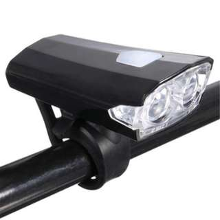 2LED RECHARGEABLE FRONT HEAD LIGHT