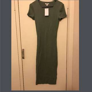 Kookai Green Dress