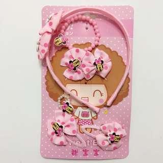 Minnie Mouse Headband Set