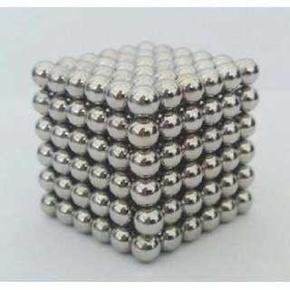(清倉價)巴克球5MM 216顆 簡易包裝 磁珠磁球益智/玩具魔力/磁球/ (剩下50組,多買另有折扣)