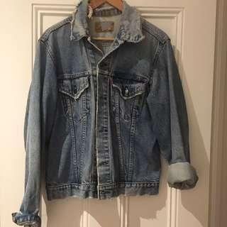Vintage Levi's Boyfriend Denim Jacket