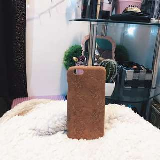 Brown Leather Iphone Case For Iphone 6/6s