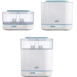 3in1 Philips Avent sterilizer