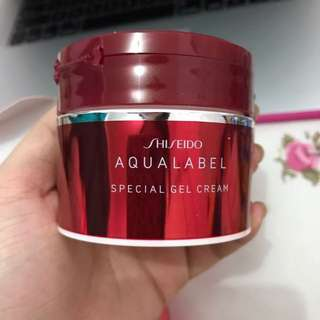 Aqualabel Shiseido Special Gel Cream