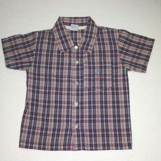 Bambini Checkered Polo