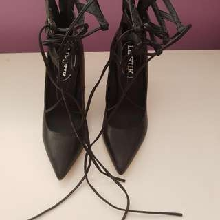 7.5 Lace Up Heels