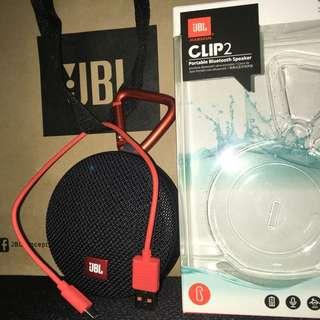 JBL CLIP2 Portable Bluetooth Speaker
