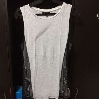 topshop sleeveless