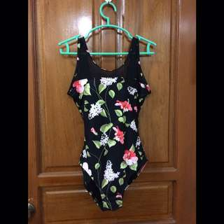 One Piece Swimsuit Floral
