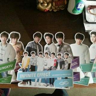 2015 Infinite 2nd world tour Infinite Effect 立牌 B set