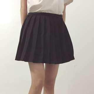 黑色百褶裙 M號