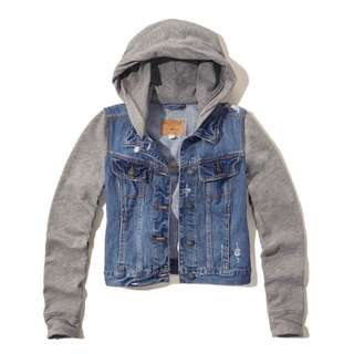Hollister Denim Twofer Jacket