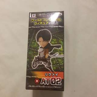 "Attack On Titan 3"" Captain Levi Figure"