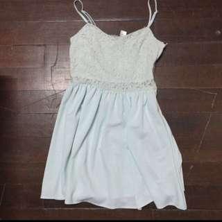 H&M Green Teal Dress