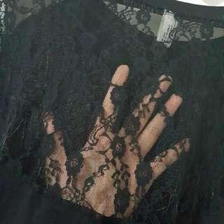 Korean Black Lace