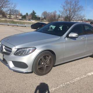 Mercedes Benz C300 With AMG Interior