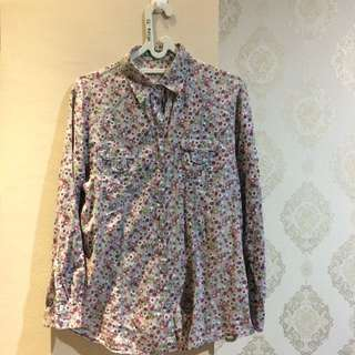 Ponit One Oversized Flower Shirt