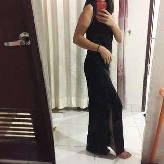 long dress - black / party