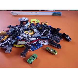 Assorted Die cast toy car