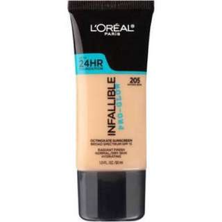 L'oreal infallible Pro Glow 205 COD