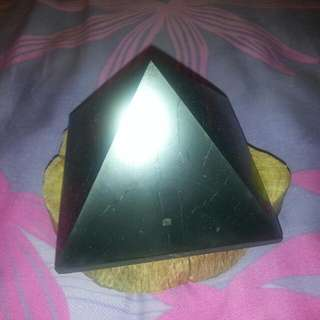 Shungite Pyramid from Russia ( 10 × 10cm) Big Size