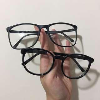 黑色無度數眼鏡