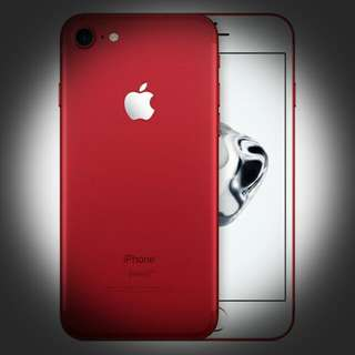 Brand New Iphone 7 Red 256gb