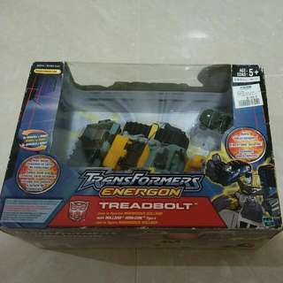 Transformers Energon Treadbolt