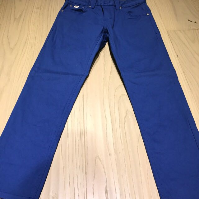 藍色長褲30腰