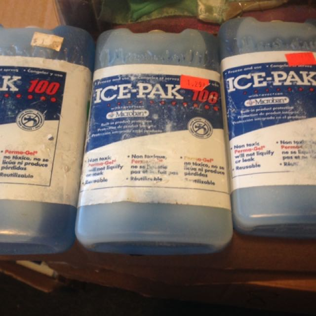 3 Ice Packs New