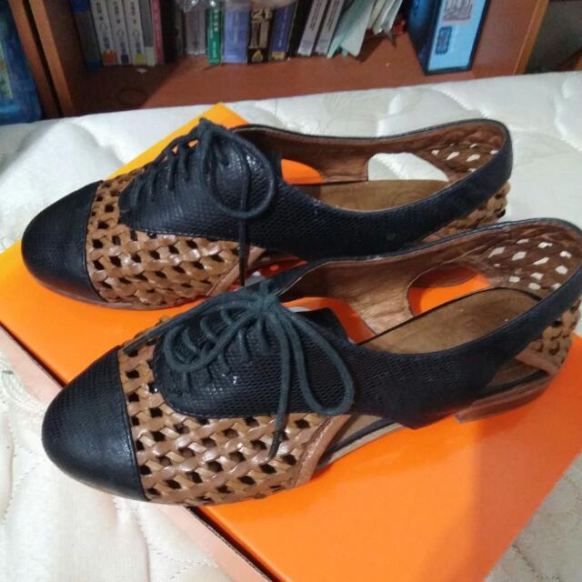 編織鞋,夏天很涼,又不失禮