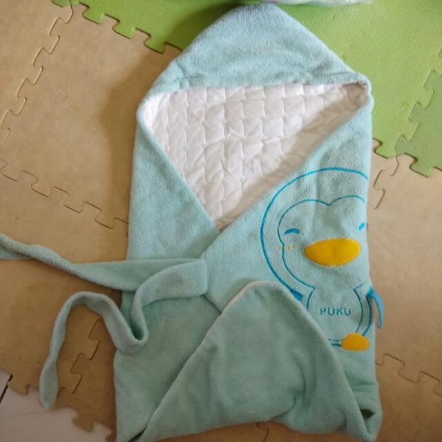 嬰兒保暖包巾,二手