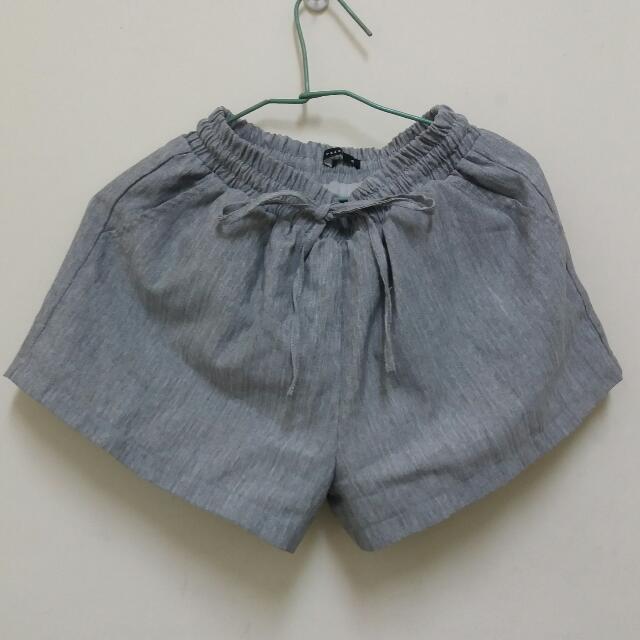 灰色綁帶短褲 #兩百元短褲
