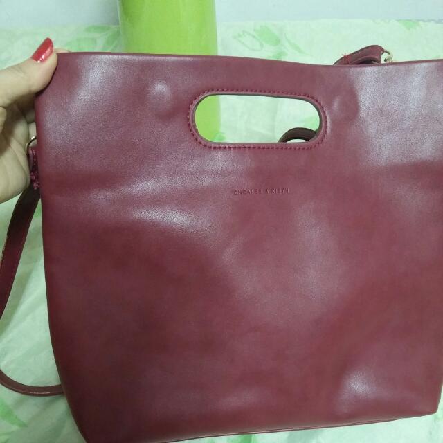 紅色簡約包