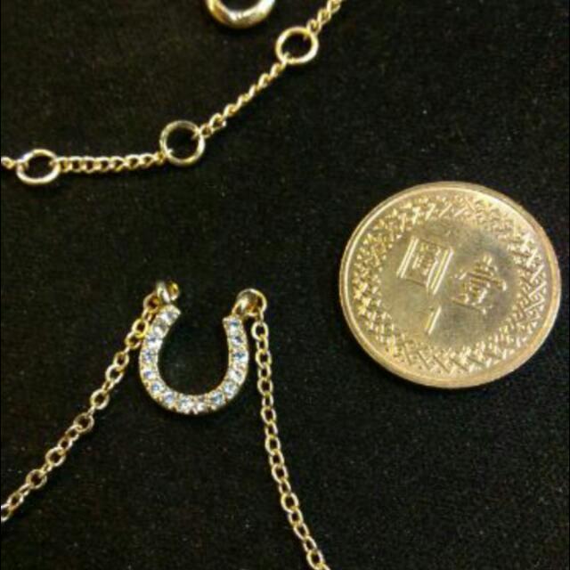 馬蹄 亮鑽 項鏈