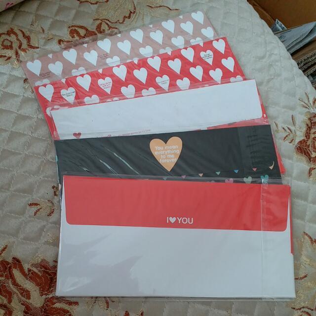 韓國 Envelopes set 1包5個,1套5款