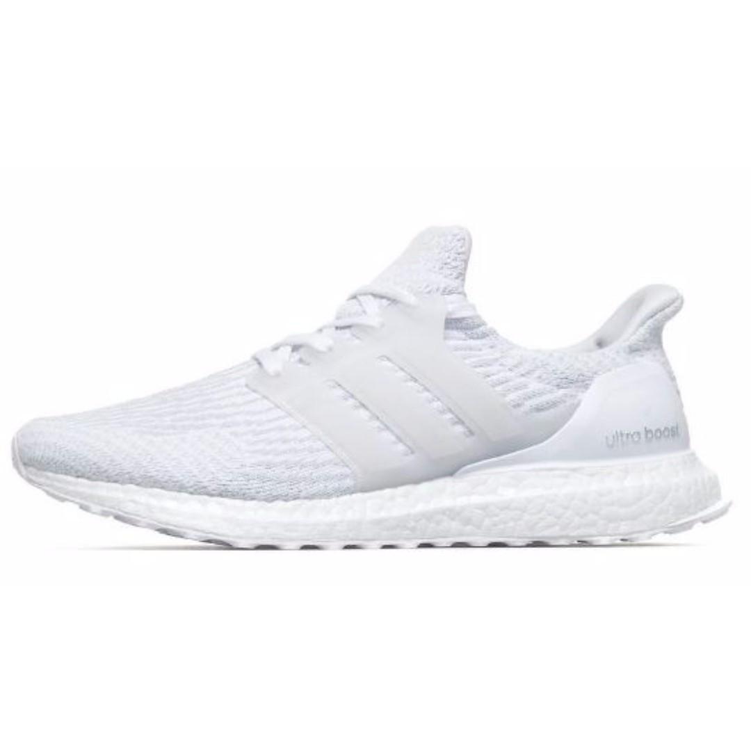 9a6aaf9ad Adidas Ultraboost 3.0 Crystal White