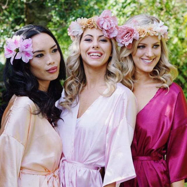 Amanda Barden Bridal/Bridesmaid Robe XS/6