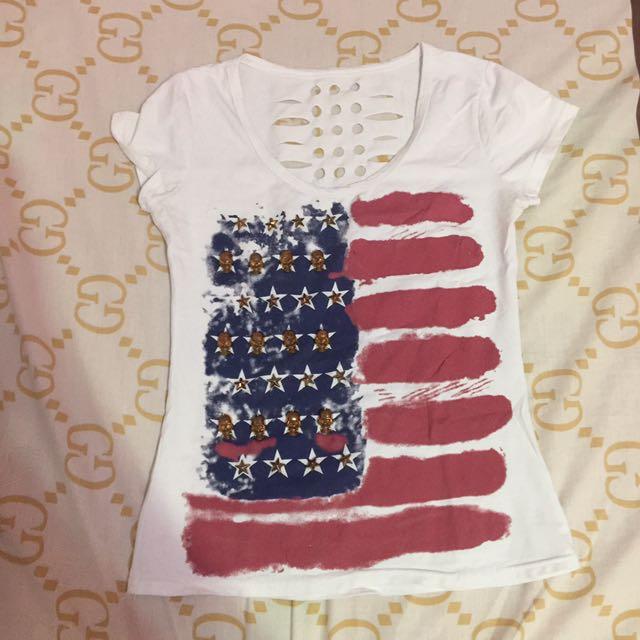 American T-shirt