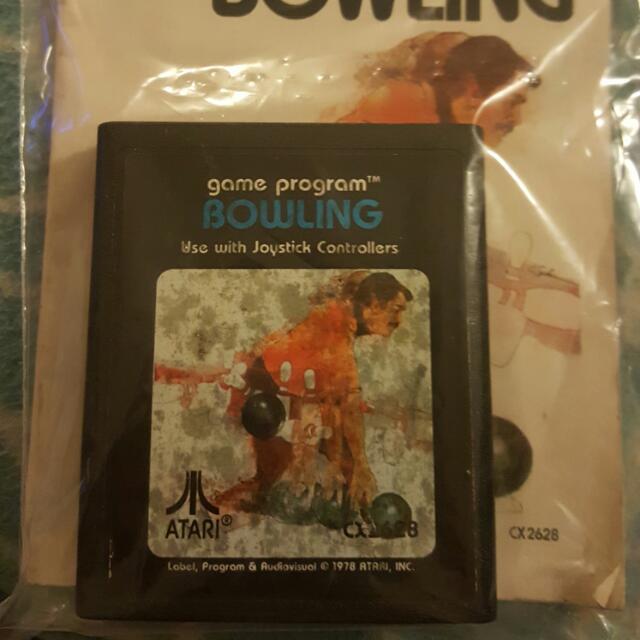Atari Bowling game