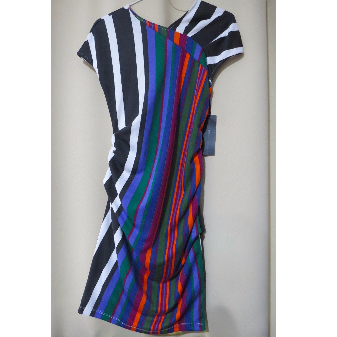 Authentic Brand New Chloe US designer plain stripes colorful dress ... fa3f7f495