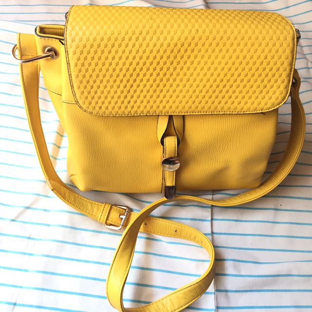 Bellezza Yellow Sling Bag