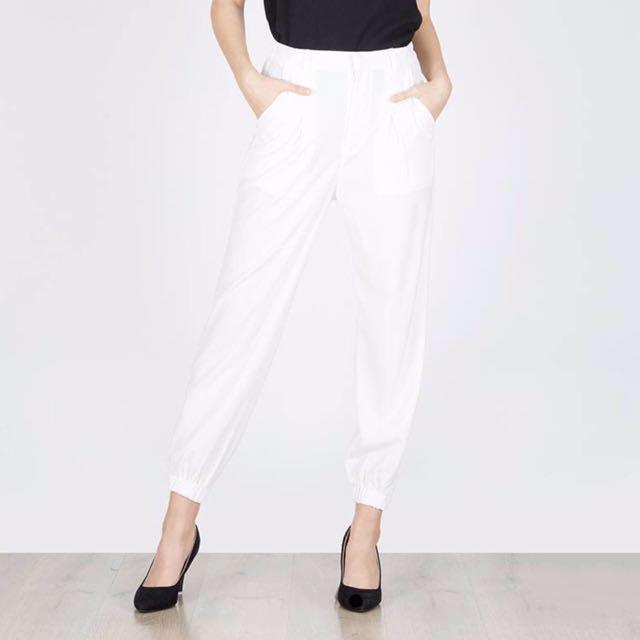 Berrybenka Penny Aladin Pants White