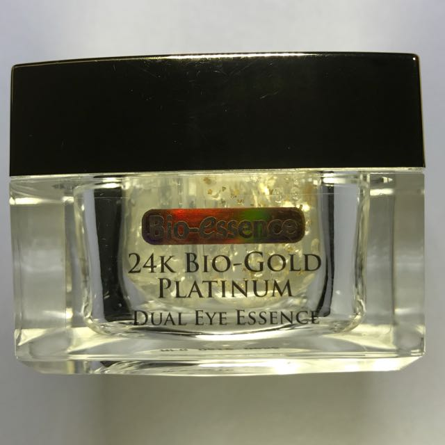 Bio Essence 24k Bio-Gold Platinum Dual Eye Essence ...