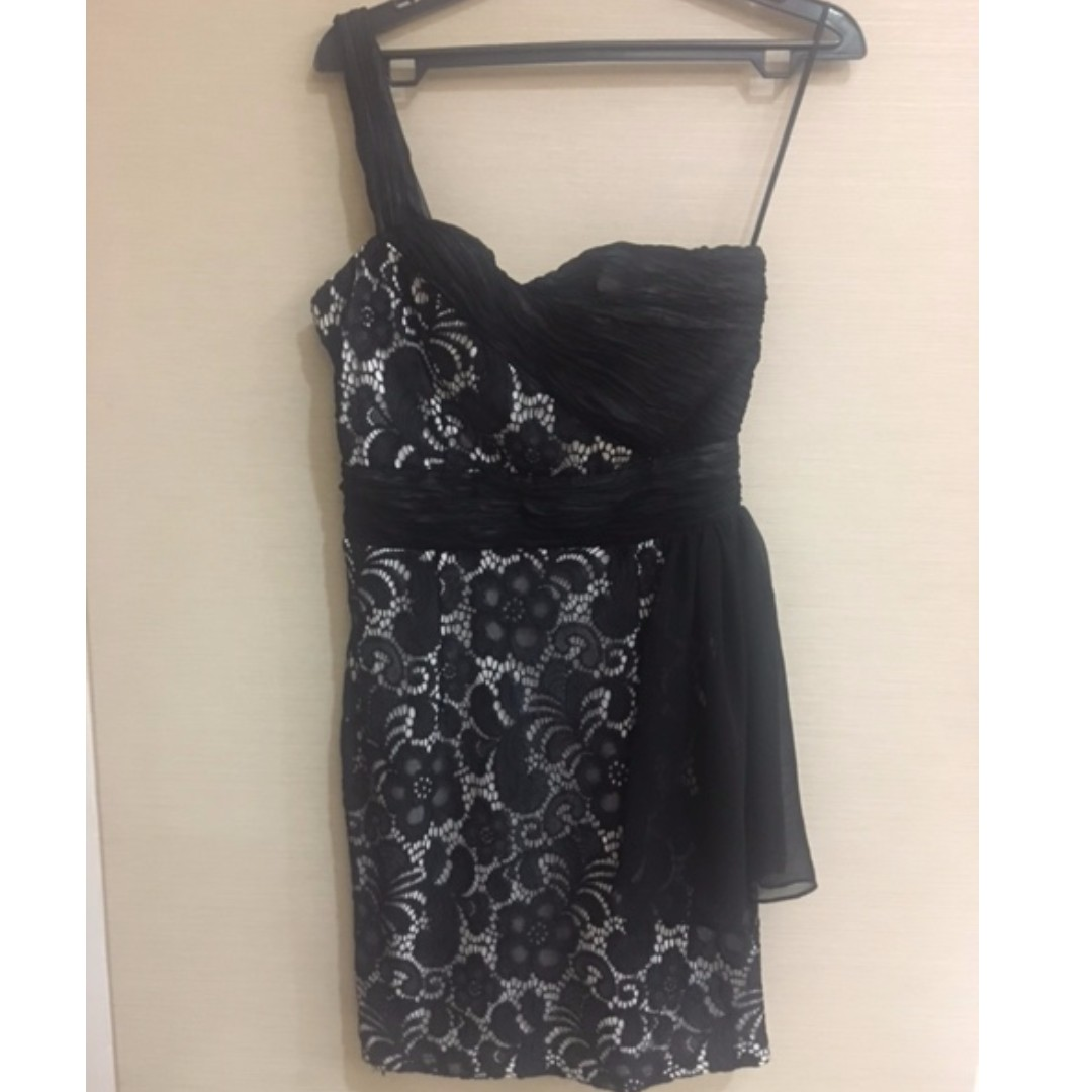 Black Lace Dress size M